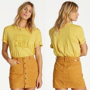Billabong Good Life Corduroy Skirt